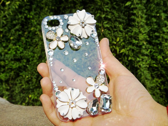 Flower Cover Cell Phone CaseFor Iphone 4 Or Iphone 4s